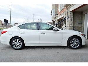 2016 Infiniti Q50 2.0t Sedan-Lease Takeover -car proof available