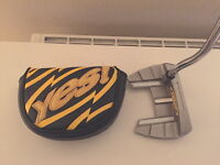 YES C- GROOVE SANDY -12 MID 37 INCH PUTTER WITH 17 INCH WINN GRIP
