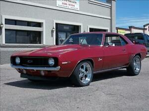 SEARCHING FOR OWNER -RED 1969 CAMARO SS - FROM MARMORA