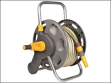 Hozelock 2431 Assembled Hose Reel & 25m of 12.5mm Hose HOZ2431