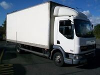 Man and Van/Luton/7.5 tonne Lorry Available for removals covering all East Anglia and More