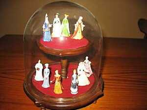 COLLECTION DE FIGURINES DE PORCELAINE - Franklin Mint