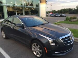 2015 Cadillac ATS  AWD Luxury Package Sedan Lease takeover