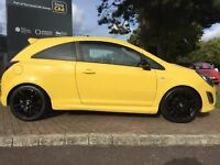 2014 Yellow limited edition corsa hatchback