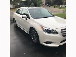 Subaru Legacy 2017 - reprise de bail