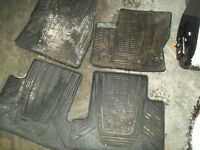 Ford Escape rubber floor mats