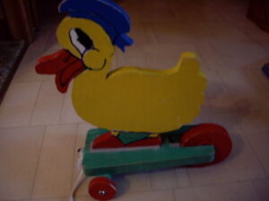 FOLK ART DUCK