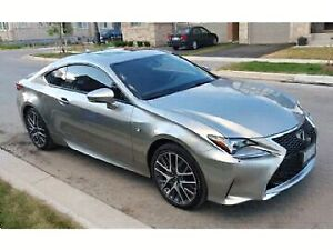 Lexus RC350 F Sport Series 2 Lease Takeover!