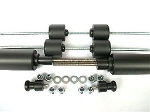 APRILIA RSVR 2004 2009 CRASH MUSHROOMS SLIDERS BUNGS FULL SET OF 8 BOBBINS  S1E