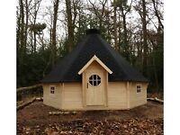 35 seater BBQ hut