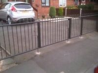Hand made wrought iron fences - made to measure and fitted