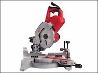 Milwaukee 216mm sliding compound mitre saw 110v with stand