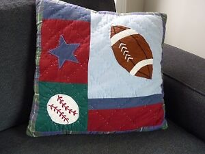 Sports Theme Pillow Sarnia Sarnia Area image 1