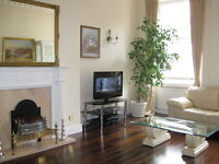 Hyde Park & Lancaster Gate. Elegant spacious 3 bedroom flat w/ Sky + internet. Available immediately