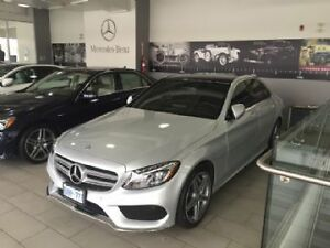 2016 Mercedes-Benz C-Class C300 4Matic AMG LED Heated Steering