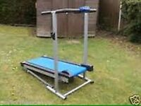 Treadmill for Sale This is NOT a powered Treadmill ( you have to do the work )