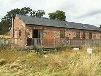 Barn Conversion 3/4 Bedrooms Half Acre Wales Shropshire Border
