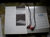 Technics Quartz Synthesizer Stereo Tuner ST-S4L plus operating instructions and schematic diagram