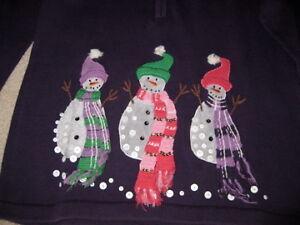 CHRISTMAS   SWEATER   SIZE  M