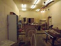 Good workshop space in former farm steading