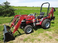 Small Tractor Services Available