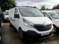 2014 64 RENAULT TRAFIC 1.6 LL29 BUSINESS DCI LWB 115 BHP TWIN TURBO DIESEL