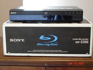 Sony BDP-S300 1080 blue ray player