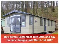 Special offer on new holiday home