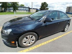 LEASE TAKE OVER 2015 Chevrolet Cruze 1LT, $400 incentive!!!