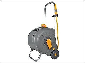 Hozelock 2416 Freestanding Compact Hose Reel & 30m of 12.5mm Hose HOZ2416