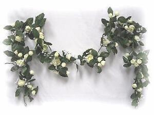 Flower garland ebay white flower garland mightylinksfo