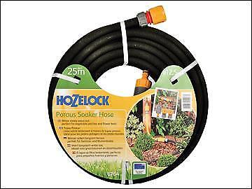 Hozelock Porous Soaker Hose 25m 12.5mm (1/2in) Diameter HOZ6764