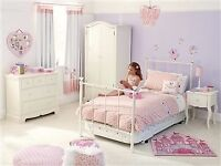 Girls white bedroom furniture from NEXT - 3 piece set