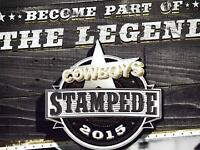 BARN BURNER STAMPEDE PARTY TICKET