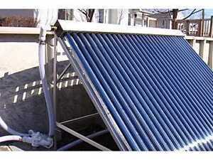 24 Tube evacuated tube Solar panel 40,000 Btu's West Island Greater Montréal image 3