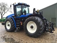 2011 New Holland T9.560, Rear hitch and GPS