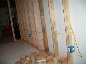 Unfinish basement? Let the Electrican begin to finish it!