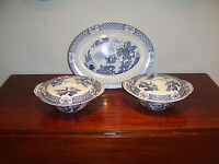 Vintage Yuan pattern dishes and platter for sale - by Wood & Sons