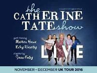 2 Catherine Tate tickets open to offers