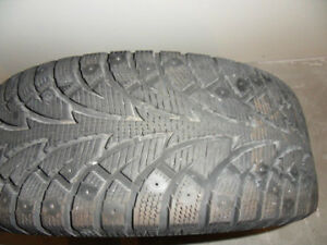 Hankook Winter/Pike  Like NEW with covers