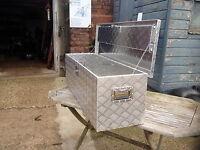 Aluminium tool storage chest Suitable for van or pick-up truck
