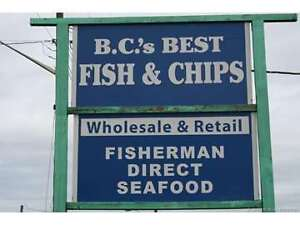 125 George Street, Enderby, BC  Busy Seafood Restaurant