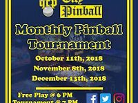 Queen City Pinball Monthly Tournament