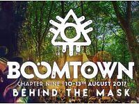 BoomTown Fair ticket 2017