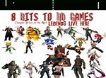 8 Bits to HD Games