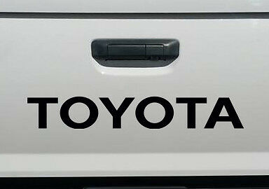 TOYOTA BLACK TAILGATE SPORT Decals Vinyl Stickers 1 Graphic Pick up Truck Bed](Sports Stickers)