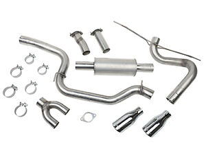 Factory exhaust for 2015 Ford Focus ST