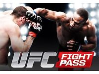 UFC Fight Pass 1 Year Subscription!