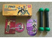 ZUMBA fitness DVD workout kit