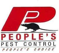 PEOPLE'S PEST CONTROL SERVICES 100% RESULTS WITH LOWEST PRICE